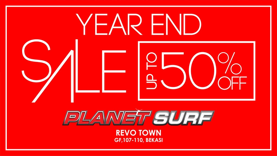 Planet Surf Year End Sale