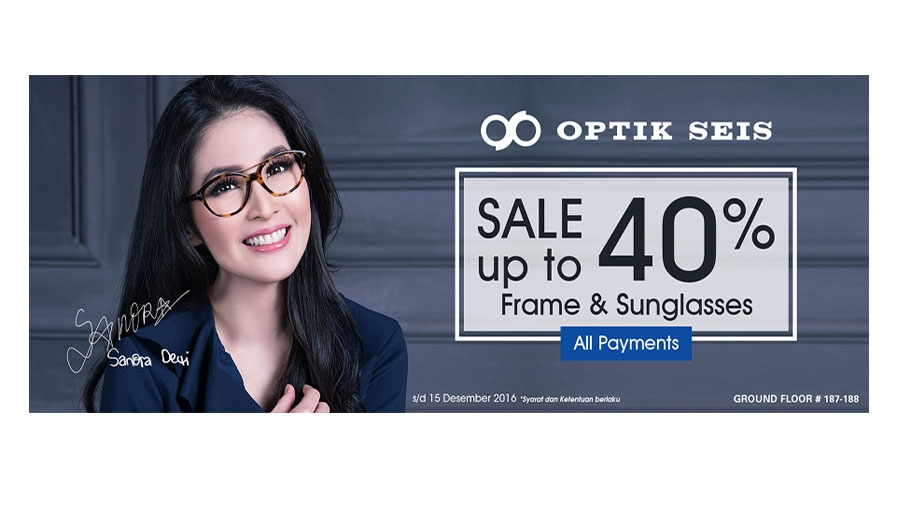 Optik Seis Sale up to 40%