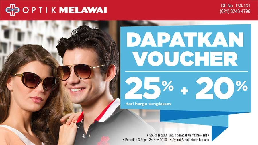 Optik Melawai Voucher