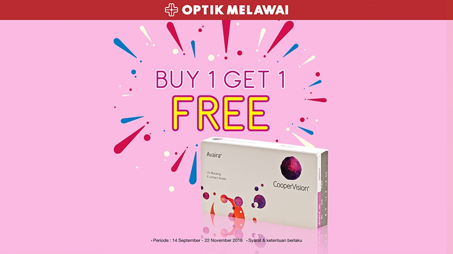 Buy 1 Get 1 Free For Avaira Contact Lenses