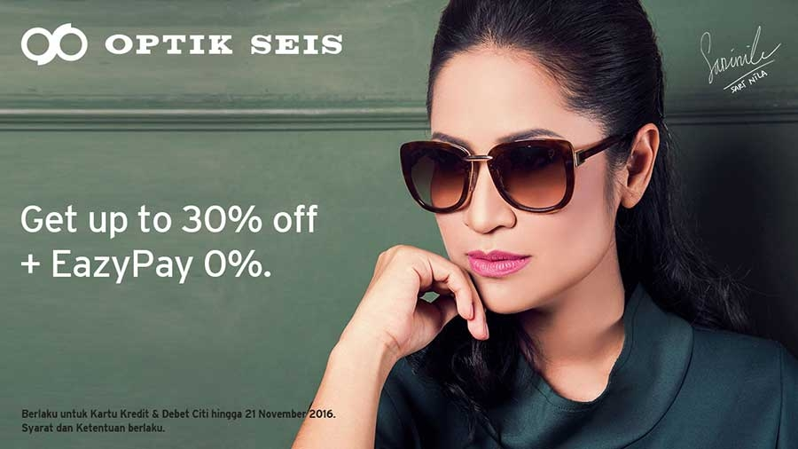 Optik Seis 30% off